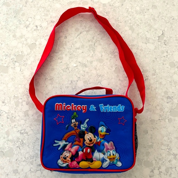 Back to School Mickey & Friends lunchbox